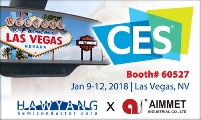 Hawyang and Aimmet see you at CES 2018!